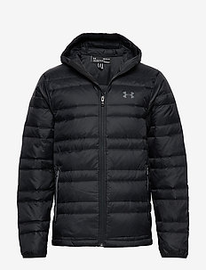 UA Armour Down Hooded Jkt - BLACK