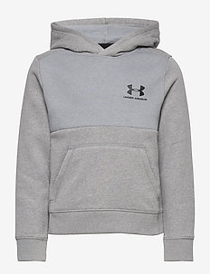 UA Cotton Fleece Hoodie - STEEL