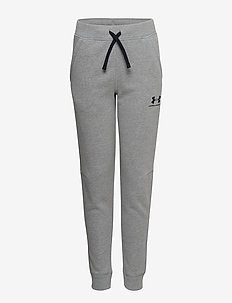 UA Cotton Fleece Joggers - STEEL
