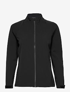 Stormproof Golf Rain Jacket - golf jackets - black