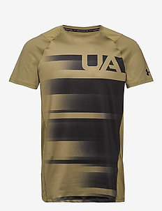 MK1 SS UA SUBLIMATED - sports tops - outpost green