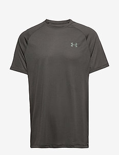 UA TECH 2.0 SS TEE NOVELTY - t-shirts - black