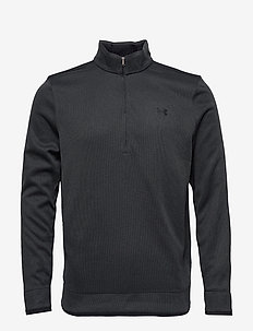 SWEATERFLEECE 1/2 ZIP - BLACK