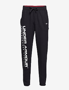 UA PERFORMANCE ORIGINATORS FLEECE LOGO PANT - sweatpants - black