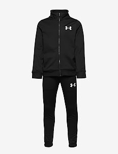 KNIT TRACK SUIT - BLACK