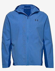 M UA Qualifier OutRun the STORM Jacket - WATER