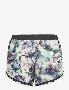 W UA Fly By 2.0 Printed Short - träningsshorts - seaglass blue