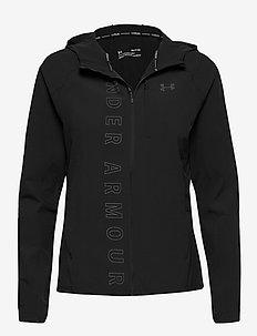 W UA Qualifier OutRun the Storm Jacket - training jackets - black
