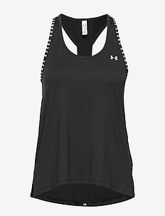 UA Knockout Tank - tank tops - black