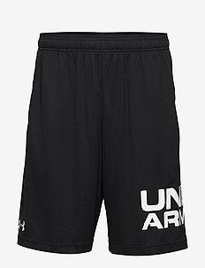UA Tech Wordmark Shorts - BLACK