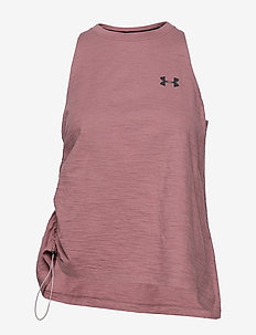 UA Charged Cotton SL Adjustable - HUSHED PINK
