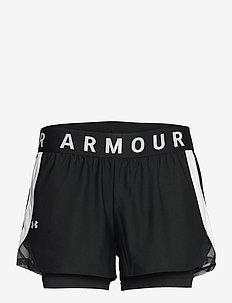 Play Up 2-in-1 Shorts - spodenki treningowe - black