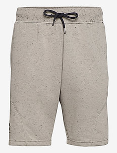 SPECKLED FLEECE SHORT - casual shorts - gravity green