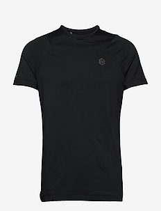 UA Rush HG Fitted SS - BLACK