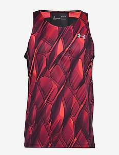 M UA Qualifier ISO-CHILL Printed Singlet - topjes - beta