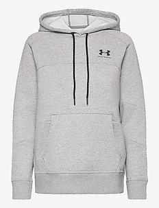 Rival Fleece Color block Hoodie - hoodies - steel light heather