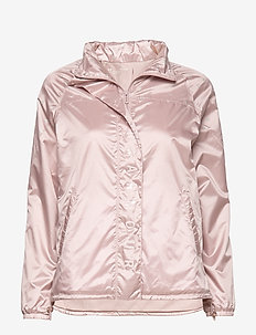 Athlete Recovery Woven Iridescent Jacket - training jackets - dash pink