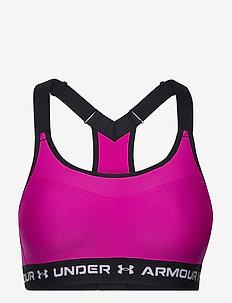 Armour High Crossback Bra - sort bras:high - meteor pink