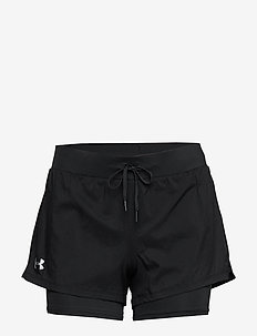 W UA Qualifier SpeedPocket 2-in-1 Short - trening shorts - black