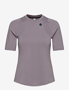 UA Rush SS - t-shirts - slate purple