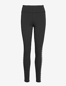 UA FAVORITE LEGGING BRANDED - løpe- og treningstights - black