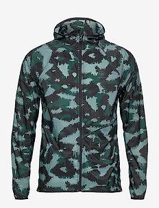 UA Run Anywhere STORM Jkt - träningsjackor - lichen blue