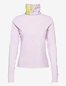 UA IGNIGHT ColdGear Funnel - topjes met lange mouwen - crystal lilac