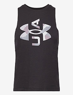 Logo Graphic Muscle Tank - topjes - black