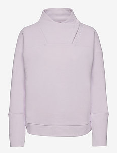 Recover Fleece Wrap Neck - mellanlager - crystal lilac