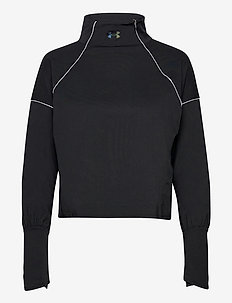 UA CG Rush 1/2 Zip - sweatshirts - black