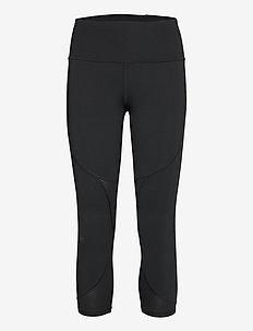 UA Rush Side Piping Crop - collants d'entraînement - black