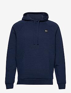 UA Rival Fleece Hoodie - basic sweatshirts - academy