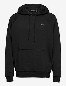 UA Rival Fleece Hoodie - podstawowe bluzy - black