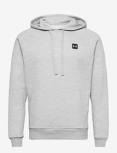 UA Rival Fleece Hoodie - sweats basiques - mod gray light heather
