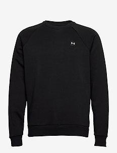 UA Rival Fleece Crew - sweats - black