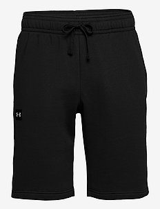 UA Rival Fleece Shorts - rennot - black