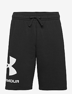 UA Rival FLC Big Logo Shorts - casual shorts - black