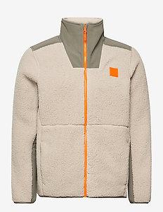 UA LEGACY SHERPA SWACKET - basic sweatshirts - highland buff