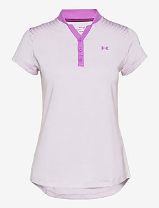 UA Zinger Graphic SS Polo - pikéer - crystal lilac