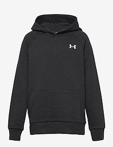 UA RIVAL COTTON HOODIE - hoodies - black
