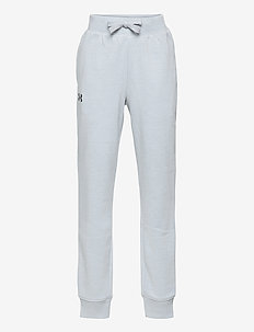 UA RIVAL COTTON PANTS - trainingsbroek - mod gray light heather