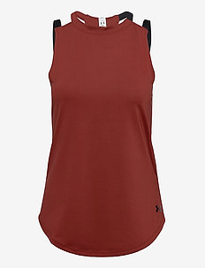 Armour Sport 2-Strap Tank - tank tops - cinna red