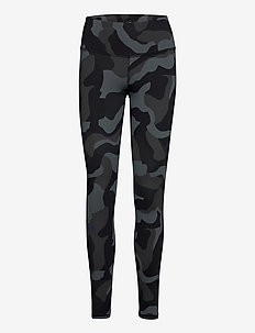 UA Rush Camo Legging - collants d'entraînement - black