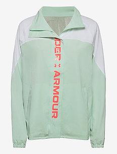 Recover Woven CB Jacket - träningsjackor - white