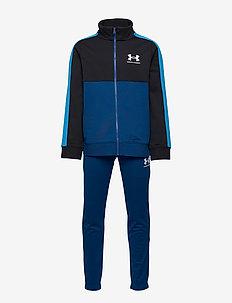 UA CB Knit Track Suit - dresy - graphite blue