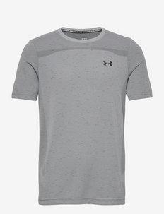 UA Seamless SS - urheilutopit - mod gray