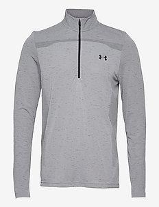 UA Seamless 1/2 Zip - langarmshirts - mod gray