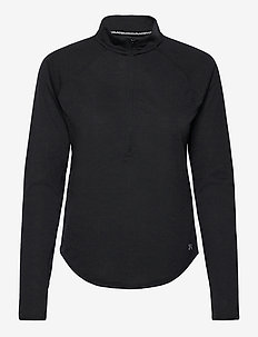 UA Streaker Half Zip - topjes met lange mouwen - black
