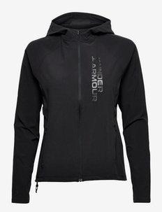 UA OutRun the Storm Jkt - training jackets - black