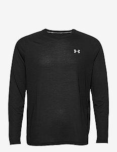 UA Streaker LS - pitkähihaiset topit - black